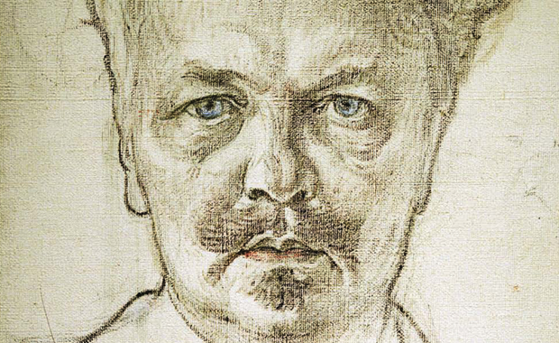 august strindberg - portrait